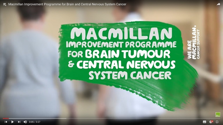 Macmillan Brain Tumor video