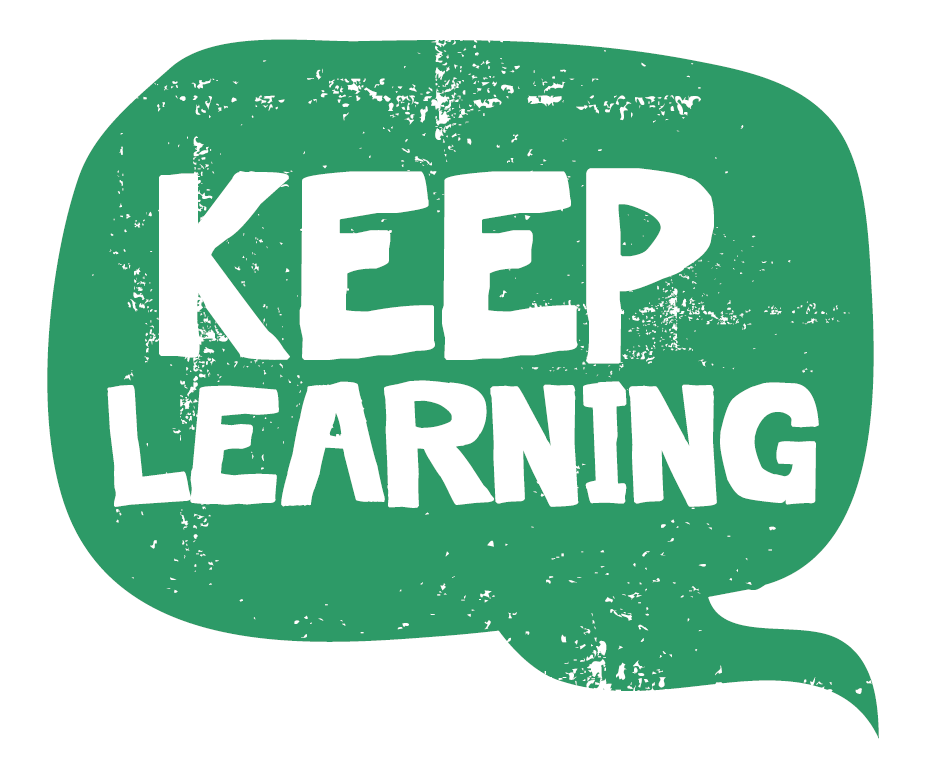 Keep Learning Icon - Web