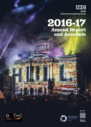 2016-17 Annual report Front cover
