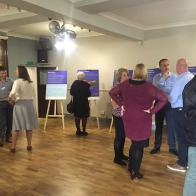 A recent consultation drop in session