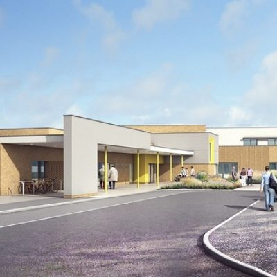 Artists impression of the integrated care centre