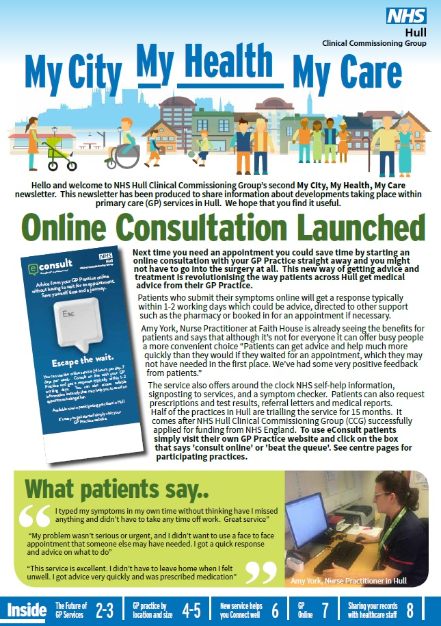 Primary care – Hull CCG
